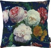 Colorful Flowers - Bloemen Kussenhoes - Katoen/Linnen - 45 x 45 cm