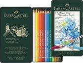 Aquarelpotlood Faber-Castell Albrecht D黵er etui � 12 stuks