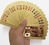 Gouden speelkaarten - Poker kaarten goud - Waterproof