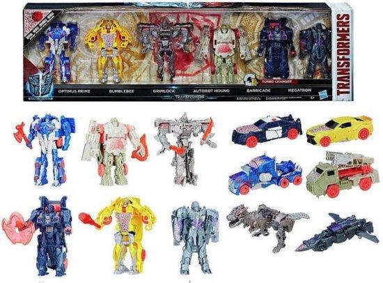 Transformers Turbo Changer 6 pack speelset Hasbro