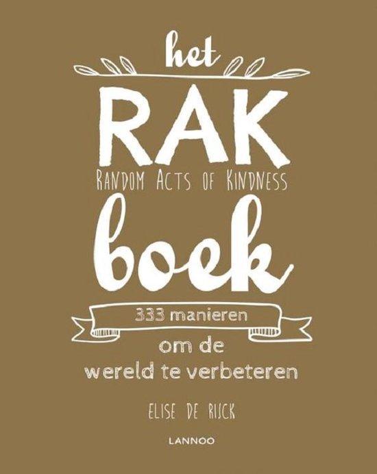 Het RAK boek - Elise de Rijck |