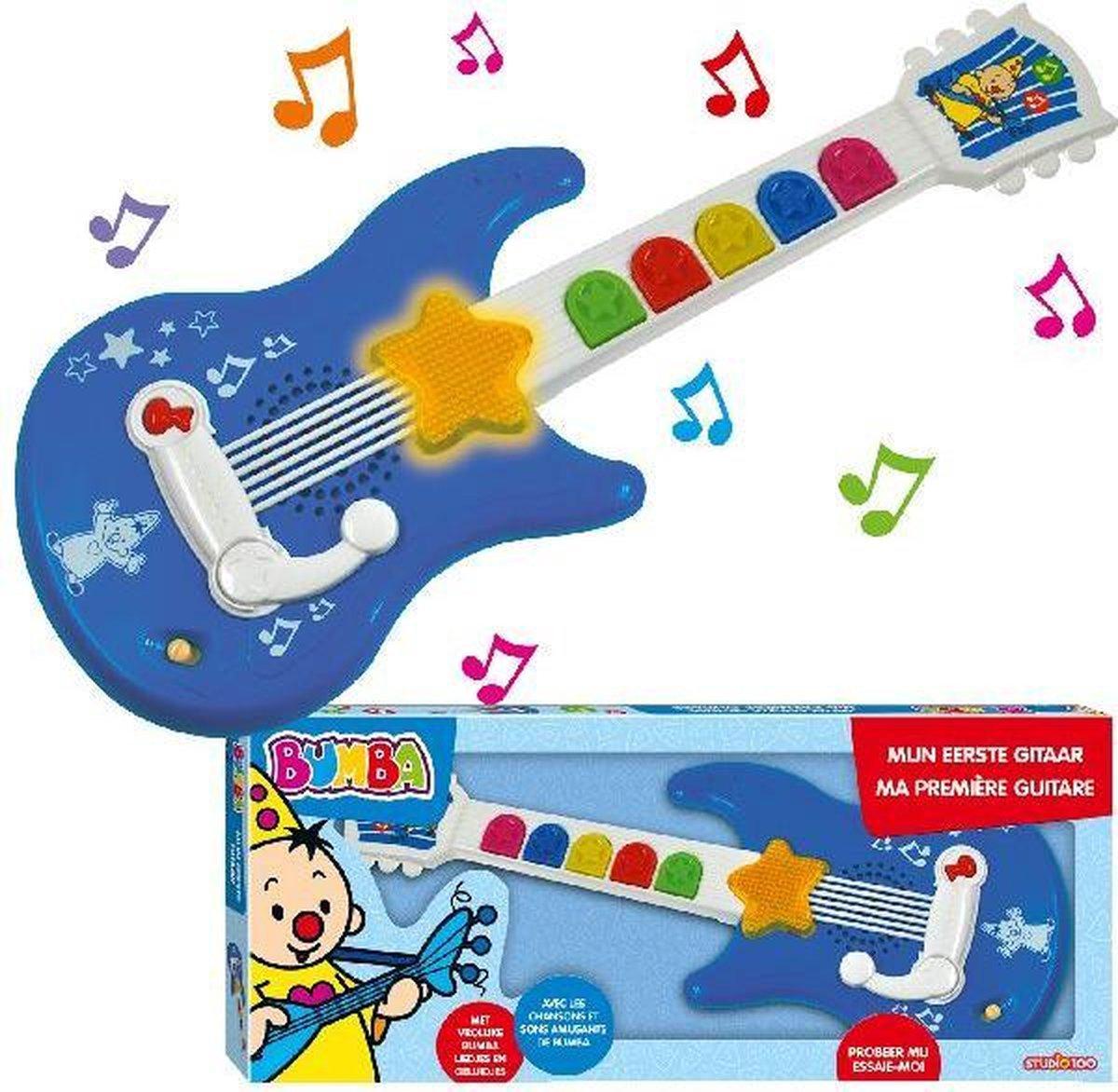 Bumba mijn eerste gitaar - Speelgoedgitaar