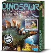 4M Kidzlabs Graaf je Dinosaurus op - Stegosaurus