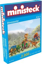 Ministeck Dinosaurussen 4 in 1