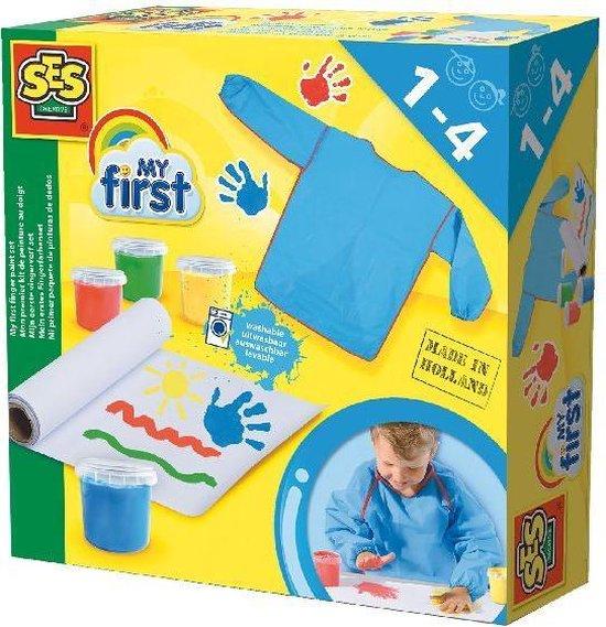 My First – Mijn Eerste Vingerverf Set 4X155ML – Speelgoed (8710341144173)