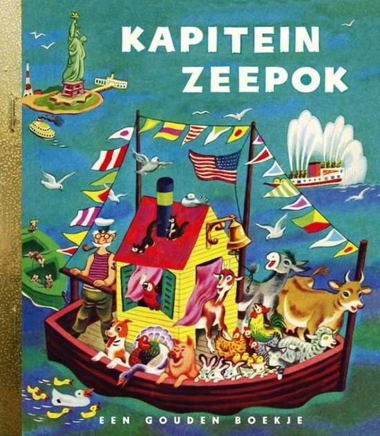 Gouden Boekjes - Kapitein Zeepok - Georges Duplaix |