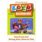 Loco Bambino - Puzzel mee met Koning Koos - 3/5 jaar