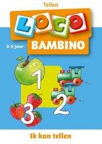 Boek cover Bambino Loco 3-5 jaar ik kan tellen van Schrijver