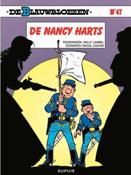 Blauwbloezen 47. de nancy harts - Willy Lambil |