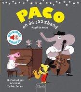 Boek cover Paco en de jazzband van Magali Huche