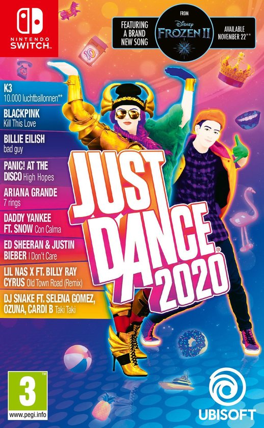 Just Dance 2020 - Switch - Inclusief K3