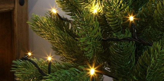 Kerstverliching - 15m - 100 LED's - Warm Wit - voor binnen