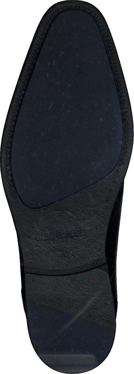Braend Heren Nette schoenen 16318 - Zwart - Maat 43 Veterschoenen