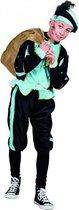 Lichtblauw Pieten kostuum voor kinderen 4-6 jaar