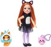 Barbie Club Chelsea Verkleedpop Katten (15 cm) - Barbiepop