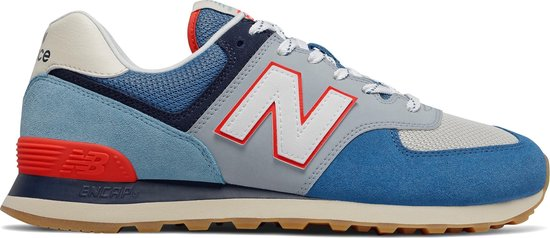 bol.com | New Balance ML574 D Heren Sneakers - Blue - Maat 46.5