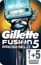 Gillette Fusion5 ProShield Chill Scheersysteem + 5 Scheermesjes - Brievenbus Verpakking