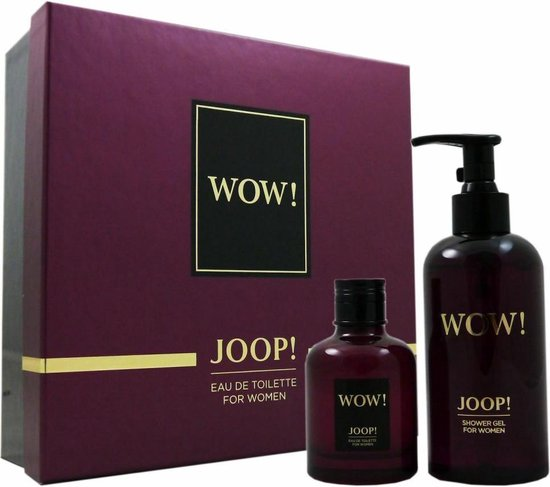 Joop! Wow! For Women Geschenkset 60 ml EDT Spray + 250 ml Douchegel