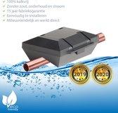 ✅ Waterontharder Black Edition - voor alle Koper waterleidingen (magneet waterleiding) ☆ Water ontharder | Antikalk | Kalkaanslag | Water ontkalker | Waterverzachter | Magnetisch | Waterontkalker | > 20.000 Gauss  / 20 Tesla