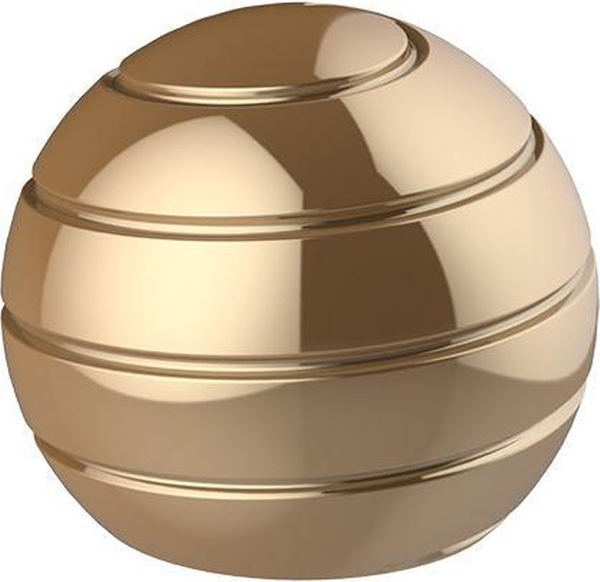 Fidget spinner - Gyroscoop - Tol - Stressbal - Mesmobal - Volwassenen - Kinderen - Bureau accessoire - Metaal - Goud