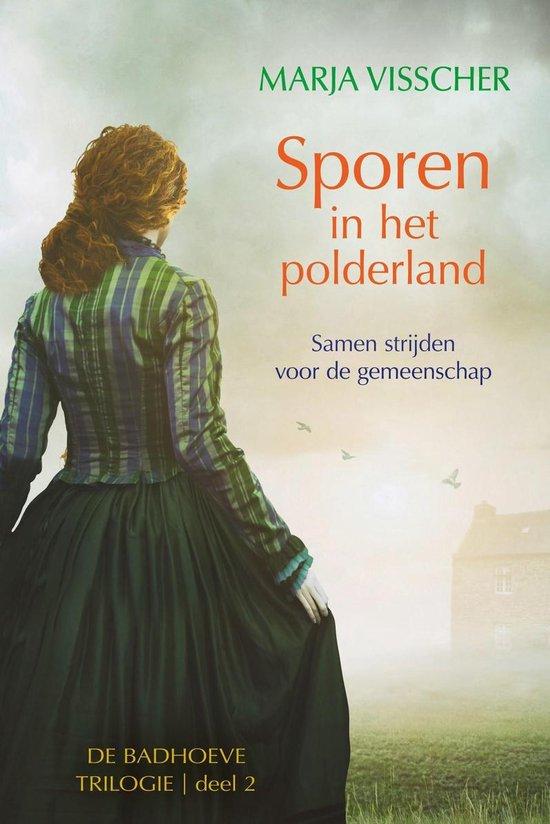 Boek cover Badhoeve trilogie 2 - Sporen in het polderland van Marja Visscher (Onbekend)