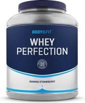 Body & Fit® Whey Perfection - Whey Protein / Proteine Shake - 2268 Gram (81 Shakes) Banaan & Aardbei smaak