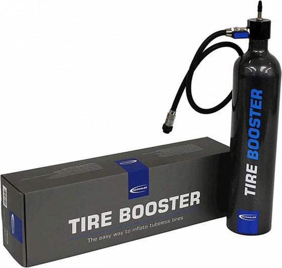 Schwalbe Tire Booster pomp voor tubeless banden 11 bar