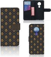 Nokia 7.2 | Nokia 6.2 Telefoon Hoesje Franse Lelie