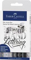 Faber-Castell - India ink Pitt Artist Pen Lettering 8x (267118)