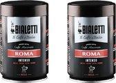 Bialetti Roma gemalen koffie - 2 x 250 gram