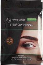 Henna Wenkbrauwverf Mediumbruin | Henna Brows |Geschikt voor minstens 25 toepassingen