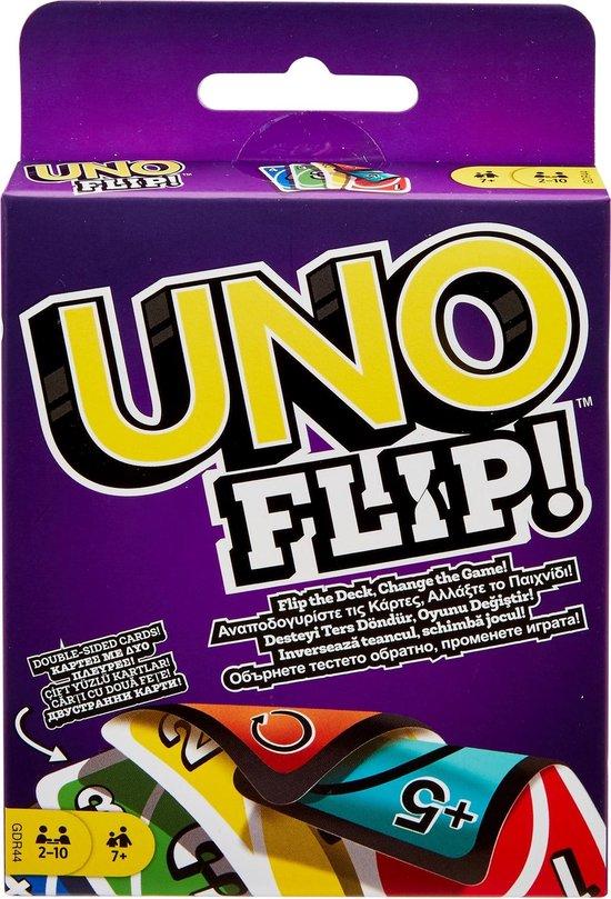 Afbeelding van het spel Mattel Games UNO Flip Kaartspel
