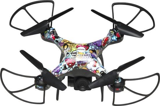Denver DCH-350, 2.4GHz drone met ingebouwde HD-camera