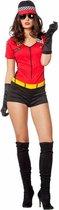 Formule 1 Kostuum   Pitspoes  Vrouw   Maat 38   Carnaval kostuum   Verkleedkleding