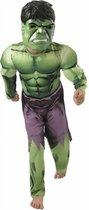 """""""Luxe kostuum van Hulk The Avengers™ voor jongens  - Verkleedkleding - 128/134"""""""