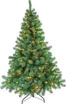 Excellent Trees® LED Stavanger Kunstkerstboom - Groen - 120 cm - 160 LEDs
