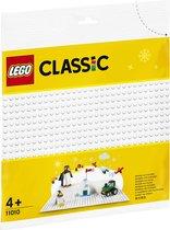 LEGO Classic Witte Bouwplaat - 11010