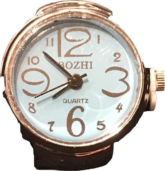 Petra's Sieradenwereld - Horlogering 22 blauw