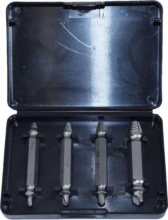 US Pro Tools Schroefverwijderset 4-delig