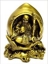 Opa boeddha in perzik