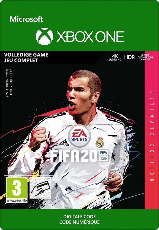 FIFA 20: Ultimate Edition – Xbox One Download – Niet beschikbaar in België