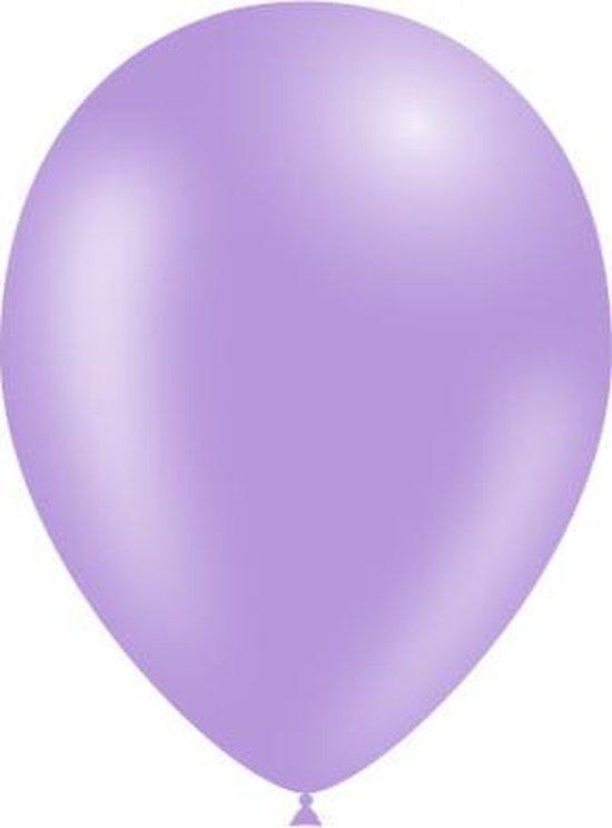 Lila Ballonnen 25cm 10st