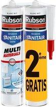 Duopack Sanitaire Multi Mat wit