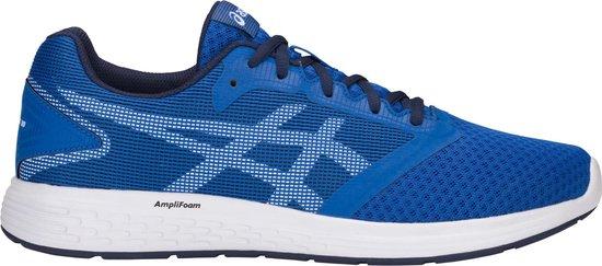 Asics Patriot 10  Sportschoenen - Maat 45 - Mannen - blauw/wit