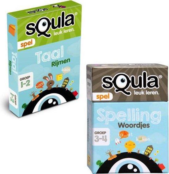 Afbeelding van het spel Squla - rijmen en woordjes - groep 1 t/m 4