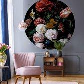Behangcirkel de Heem - Bloemen in Vaas