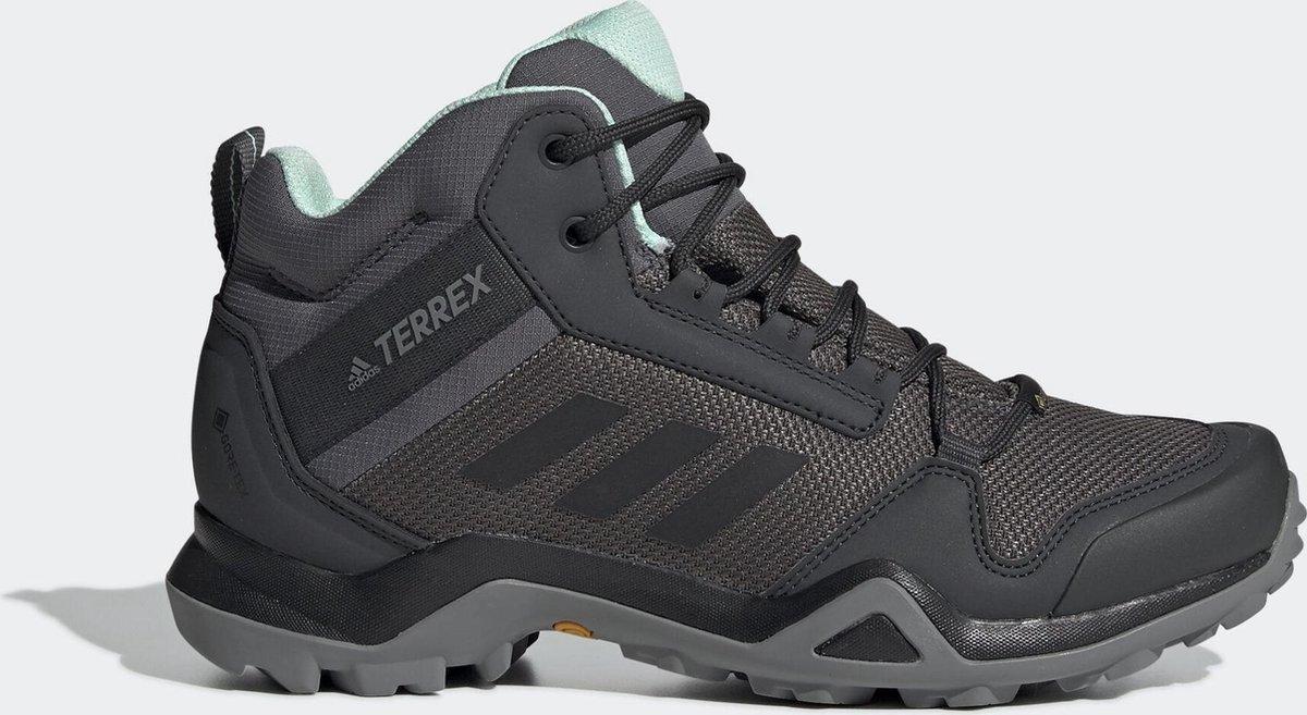 adidas TERREX AX3 MID GTX W Dames Wandelschoenen - Grey Five - Maat 38