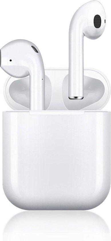 Platinum X800 - Draadloze Oordopjes met oplaadcase - Bluetooth Earbuds - Geschikt voor Android & Apple - Wit