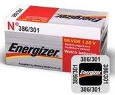 Energizer Silver Oxide Knoopcel batterij301/386 forniturenpack