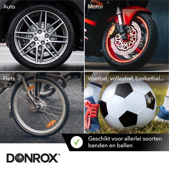 Donrox Ride F511 Draagbare Compressor Bandenpomp - Oplaadbare Elektrische Fietspomp Luchtcompressor